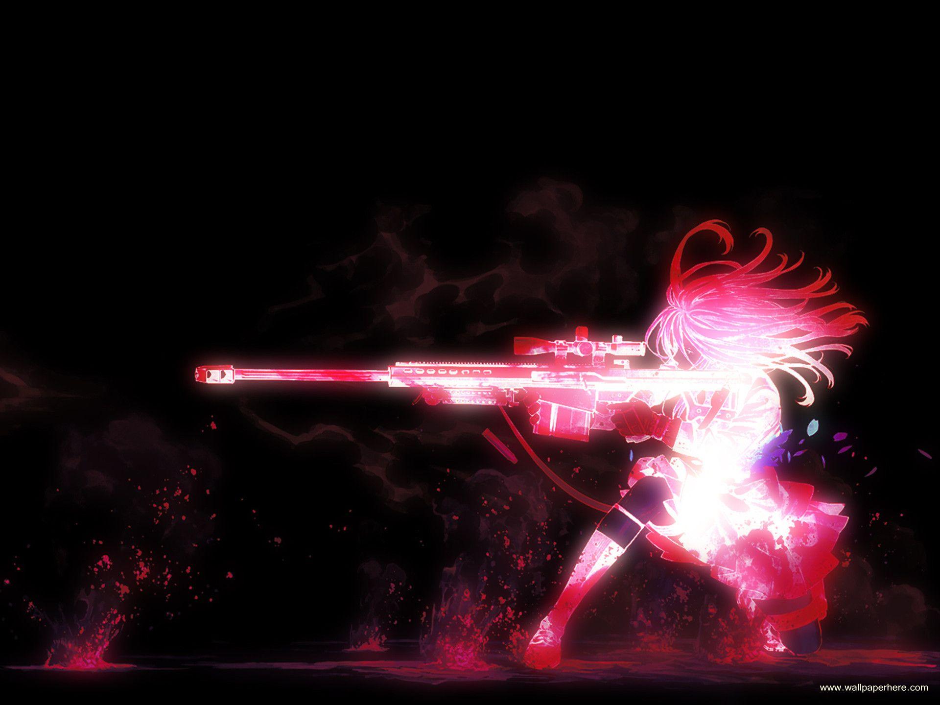 3D Neon Girl Desktop Wallpaper Аниме