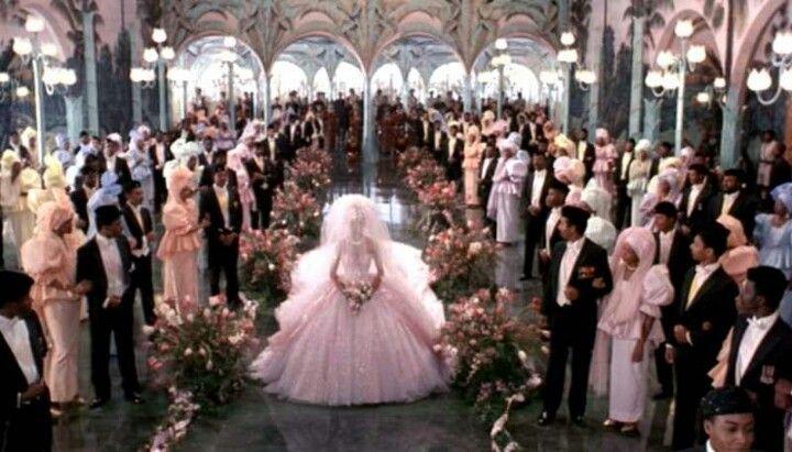 Wedding Scene Coming To America Wedding Wedding Dresses 80s