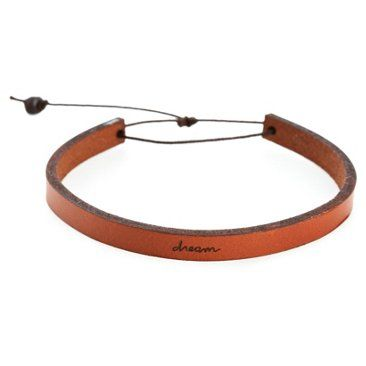 Check out this item at One Kings Lane! Dream Adjustable Leather Bracelet