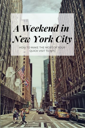 NYC Weekend Trip Guide, All Of The Best Budget Friendly