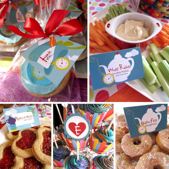 Mad Hatter Tea Party Baby Shower Unisex