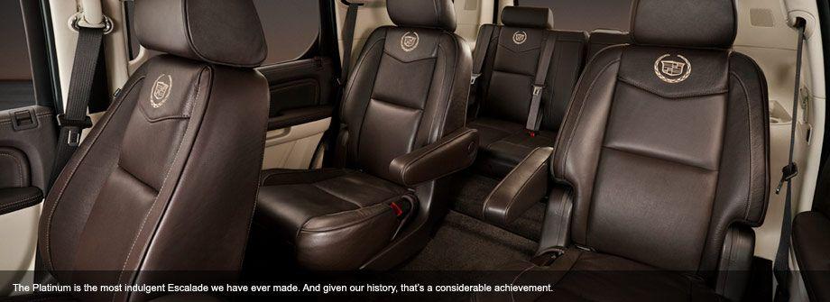 2014 Cadillac Escalade Platinum Interior HustonCadillacBuickGMC.com