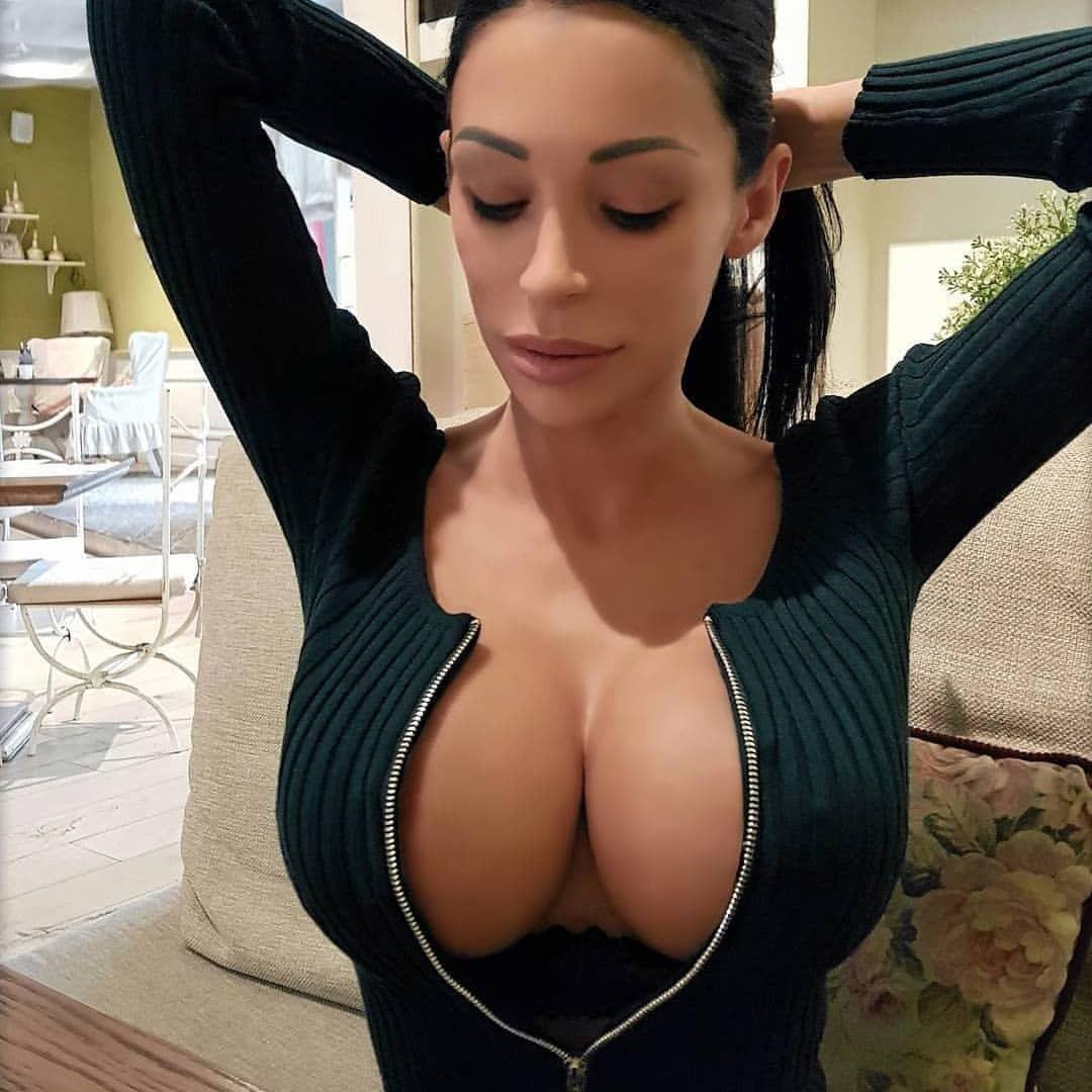 Perfect pair of faketits cleavage faketits fakeisbetter