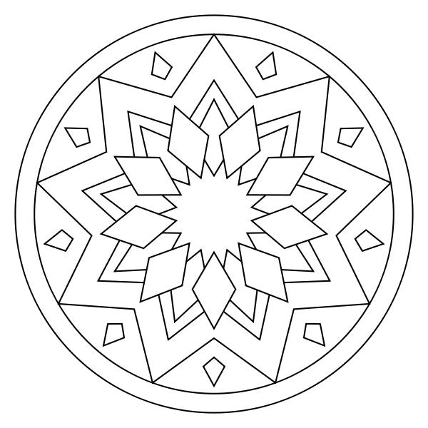 Free Printable Mandala Coloring Pages Coloring Pages Mandala