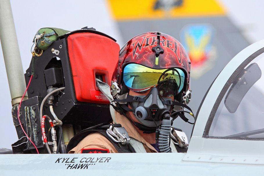Cockpit Wired Kyle Colyer Fighter Pilot Helmet Wide Fighter Jets Fighter Pilot Pilot