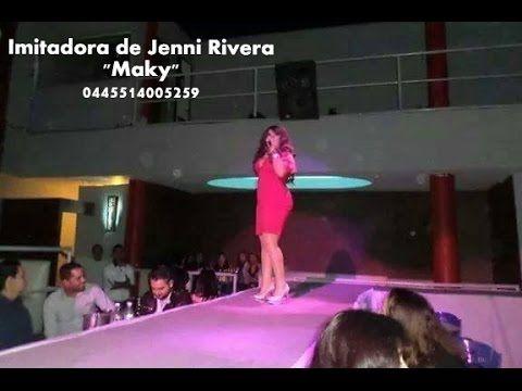 """IMITADORA DE JENNI RIVERA MAKY """"MI VIDA LOCA"""" - YouTube"""