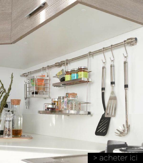 Objets Gain De Place Pour Optimiser LEspace DUne Petite - Ustensile de cuisine professionnel pour particulier pour idees de deco de cuisine