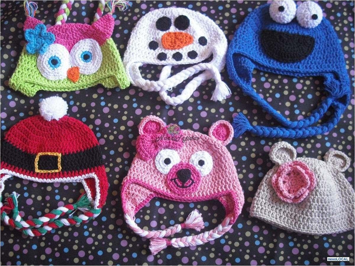 4d82059811ad6 Fotos de Gorros Tejidos En Crochet Forma De Animales Nace Tejidos ...