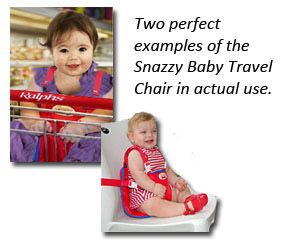 Snazzy Baby - Deluxe Travel Chair