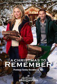 A Christmas To Remember 2019.A Christmas To Remember Hallmark Movie Hallmark Channel In