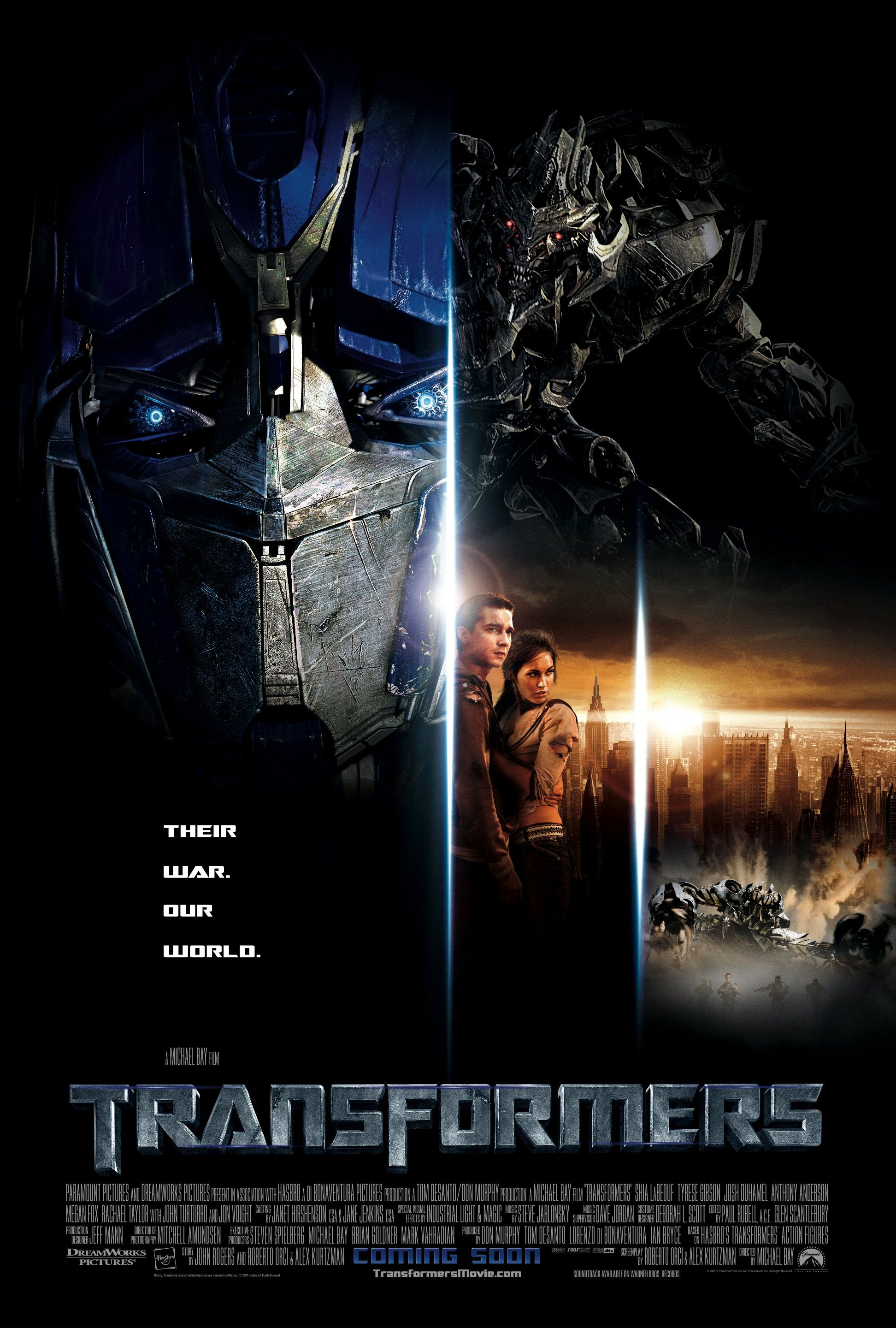 Transformers 2007 In 2020 Transformers Movie Transformers Transformers Poster
