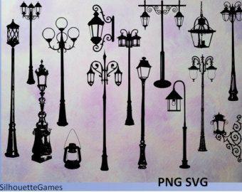 Vintage Street Lights Signs Street Light Street Lamp Victorian Street
