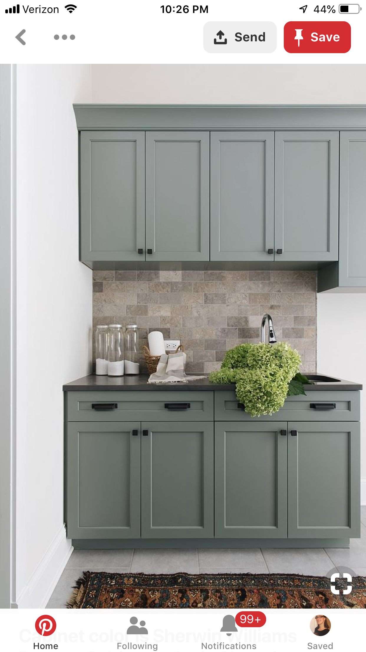 pin by heather o hayre on home with images kitchen cabinet colors kitchen renovation on kitchen cabinet color ideas id=31885