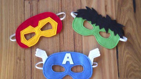 Superhero Masks - Iron Man, Hulk and Captain America Costumes at ...