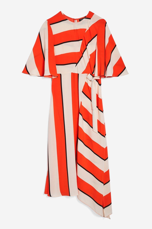 8c22eb908b5 Diagonal Stripe Midi Dress in 2018