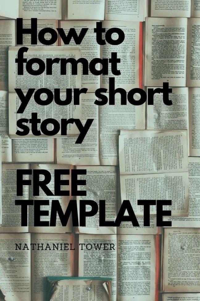 Short Story Format + Free Short Story Manuscript Template