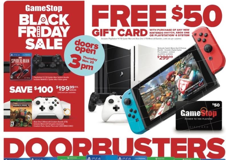 Gamestop Upcoming Black Friday Video Game Deals List Black Friday Video Friday Gifts Black Friday Ads