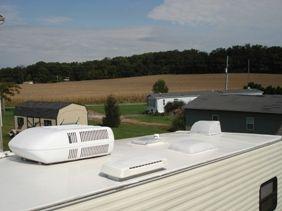 Rv Roof Repair Coatings To Fix Rv Roof Leaks Roofing