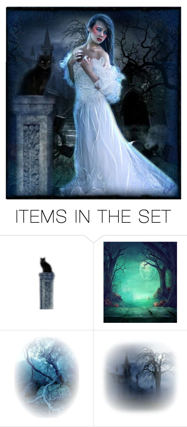 """⏺Dark Forest⏺"" by cindu12 ❤ liked on Polyvore featuring art"