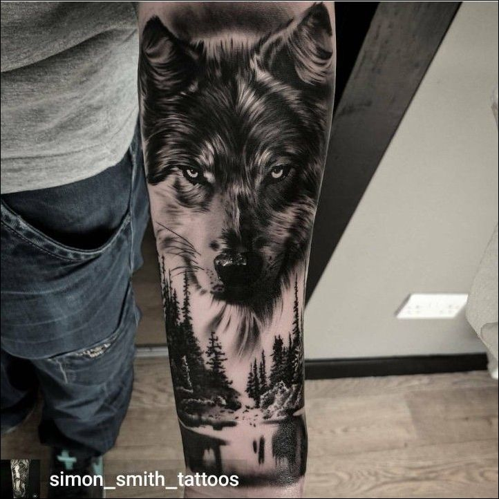 Pin by Harald Schütz on wolf tattoos