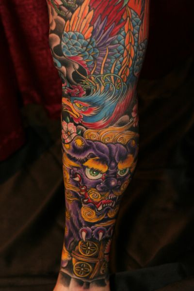 Asian Tattoo Gallery - Chinese, Japanese, and Indian ...