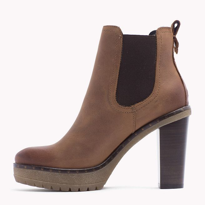 Tommy Hilfiger Cleo Ankle Boots Cognac Braun Tommy Hilfiger