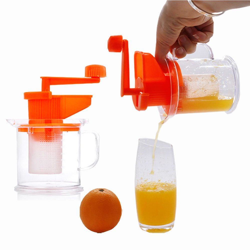Kitchen Fruit Vegetable Juice Extractor Hand Manual Press