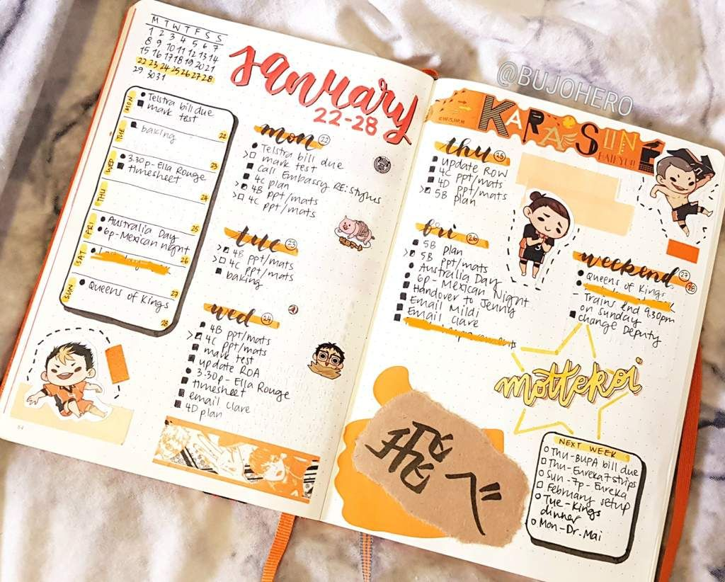 So People Really Liked My Karasuno Sneak Peek Http Aminoapps Com P 66uerw And Bullet Journal Lettering Ideas Bullet Journal Ideas Pages Bullet Journal Books