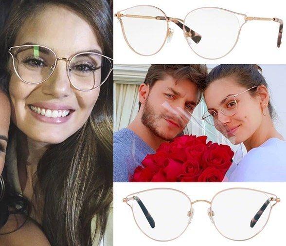 34f0d0594afe0 Qual a armação que a Camila Queiroz está usando  É o Valentino 1009 ...