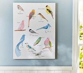 Jenni Kayne Bird Wall Art #Pottery Barn Kids