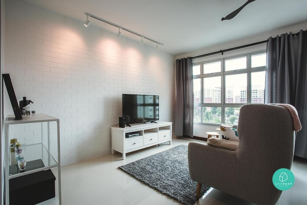 12 Mustsee Ideas For Your 4Room  5Room Hdb Renovation Delectable Hdb 4 Room Living Room Design Design Ideas
