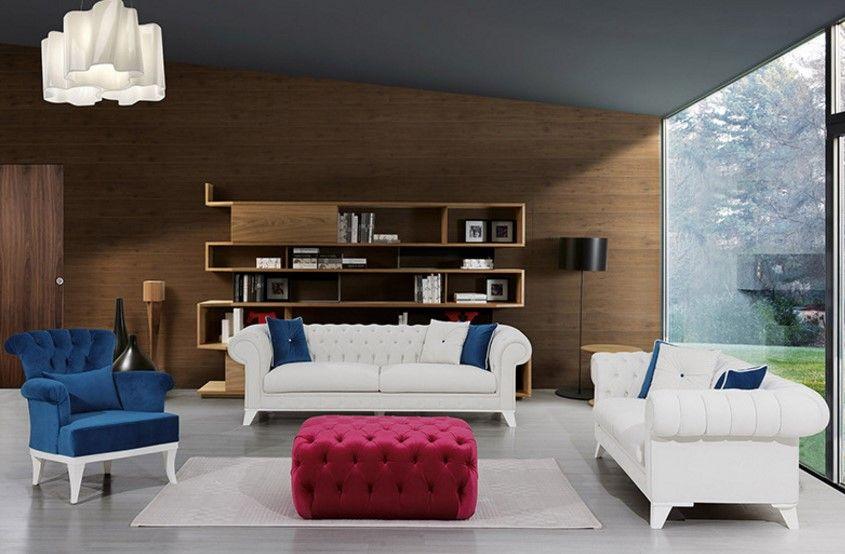 Sessel Echt-Leder Exklusive Möbel aus Italien Luxus Klassik Barock - wohnzimmer couch leder