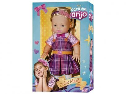 Boneca Carinha De Anjo Dulce Maria Baby Brink Com As Melhores