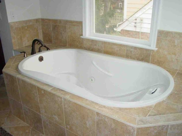 Diamond Pattern Tile Wall On Garden Tub Yahoo Image Search Results Bathrooms Remodel Bathroom Remodel Master Bathroom Remodel Cost