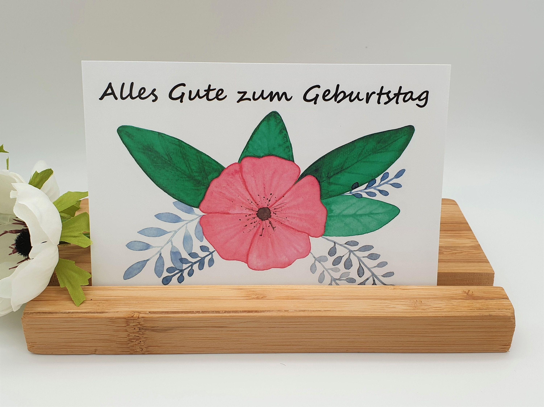Alles Gute Zum Geburtstag Gluckwunschkarte Geburtstagskarte