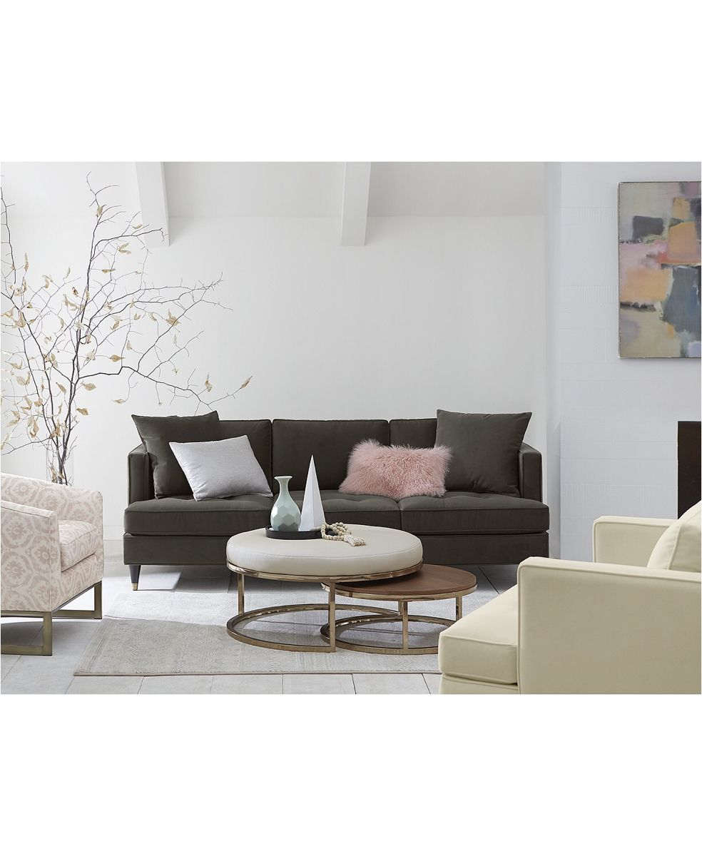 44+ Upholstered round nesting coffee table trends