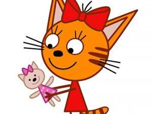 Кукла для Карамельки (мультик «Три кота» ) | Куклы, Кот