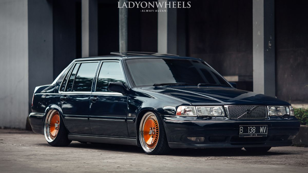 andy 39 s very clean and extremely low s90 volvo s90. Black Bedroom Furniture Sets. Home Design Ideas