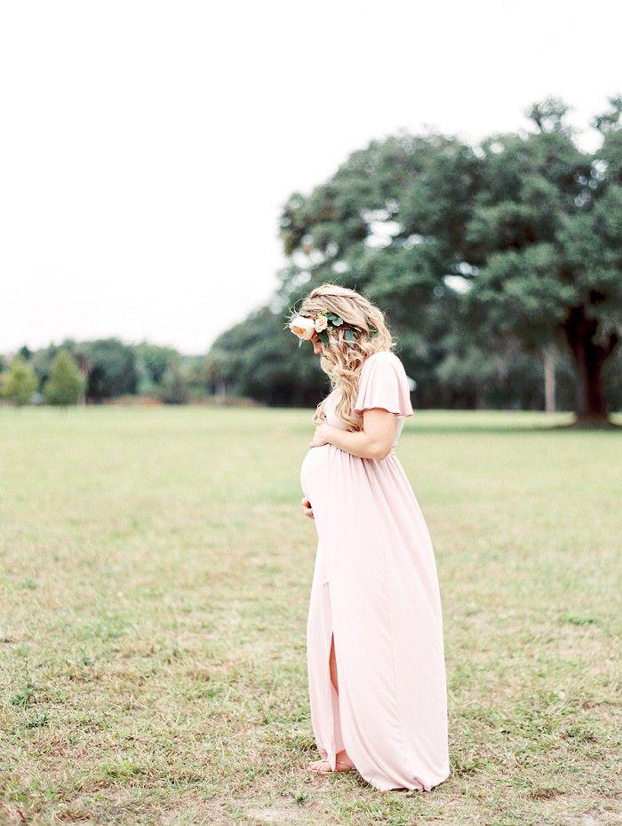 Uitgelezene A Forest Maternity Session | Tiffany & Haley | Florida Film XW-77