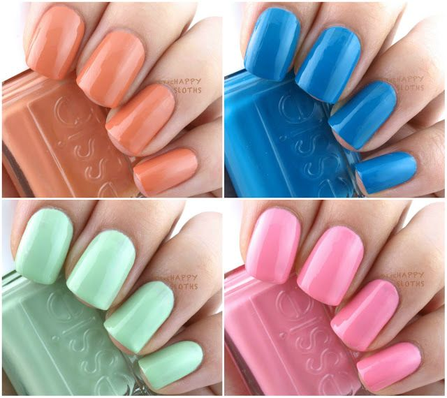 Essie Nail Polish Swatches 2016- HireAbility