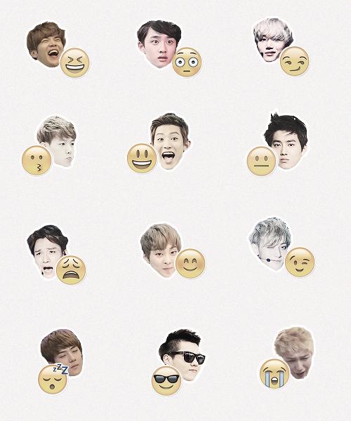 Exo Emojis / Sehun Ver
