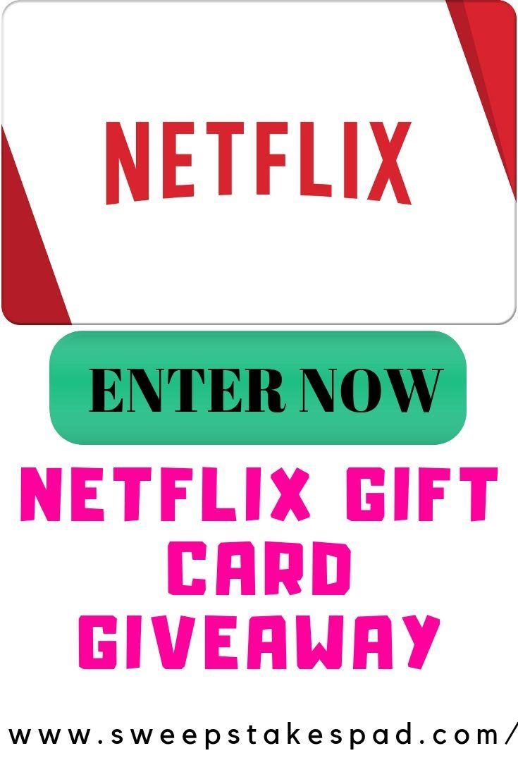 Photo of $100 #Netflix Gift Card #Giveaway
