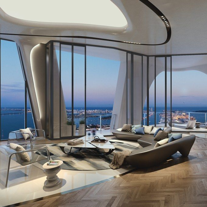 Live in Zaha Hadid Architects\' First Residential Skyscraper in the ...