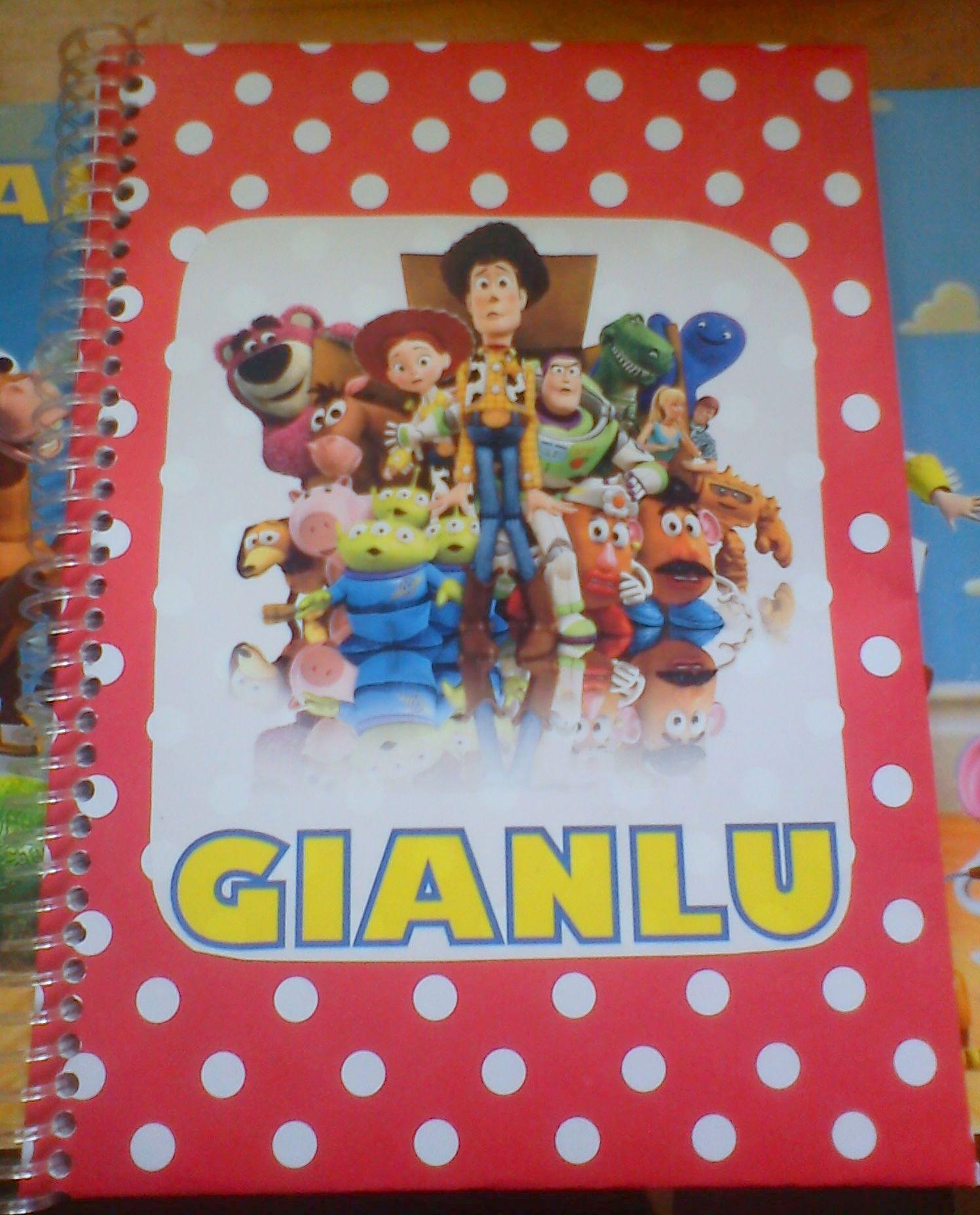 Libro para colorear Toy Story personalizado | toy story | Pinterest