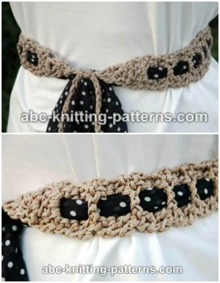 Crochet Belt Patterns 44 Free Tutorials Otras Ideas De Crochet