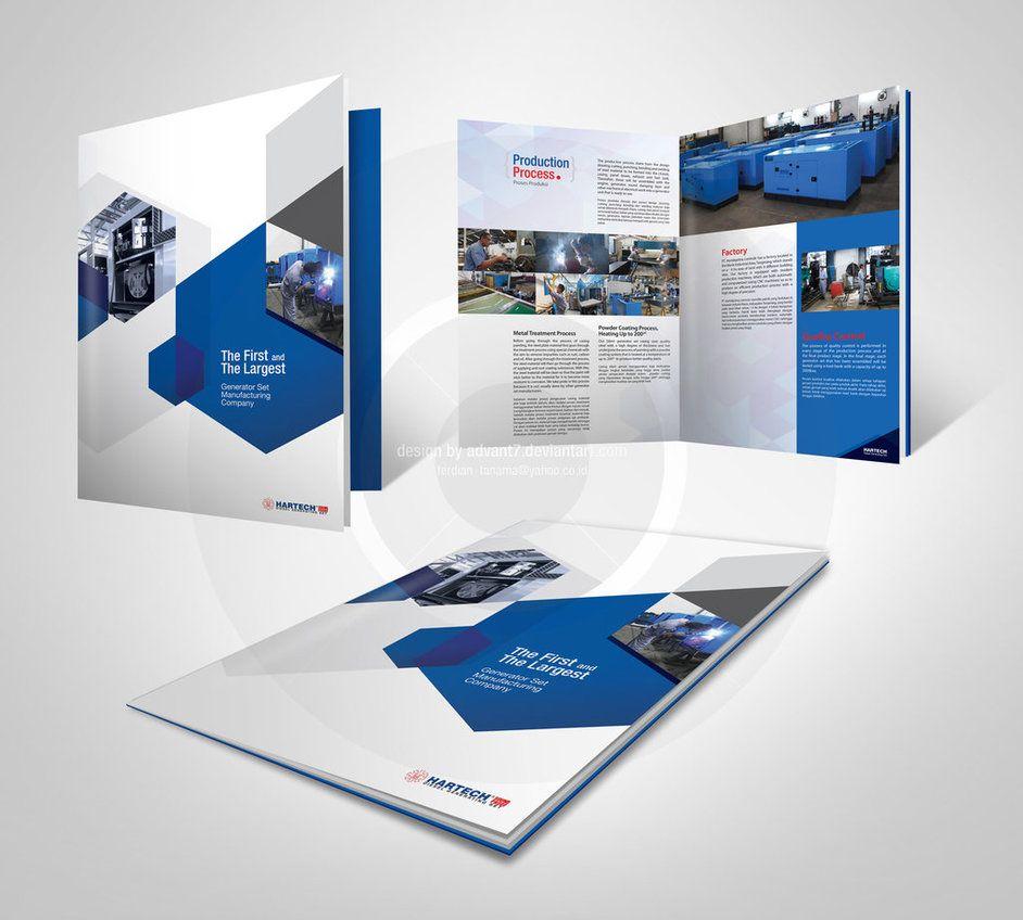 Company Profile Design By Advant  Catalog Design
