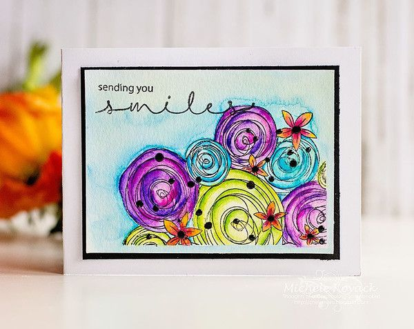 Hugs and Smiles Clear Stamps by Joy Clair