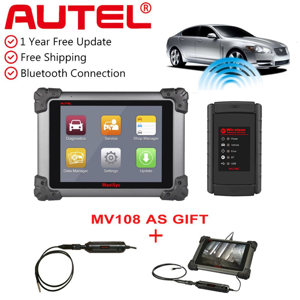 eBay #Sponsored Autel MaxiSys MS908 Auto Diagnostic Analysis System