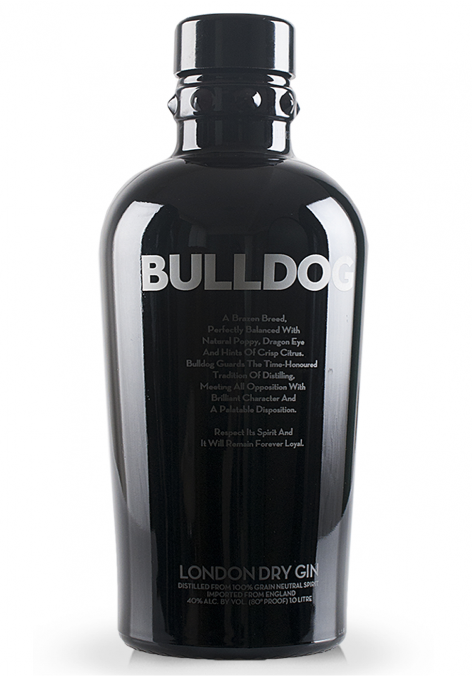 Gin Bulldog London Dry Gin Distilled From 100 Grain Neutral Spirit 1l Dry Gin London Dry London Dry Gin