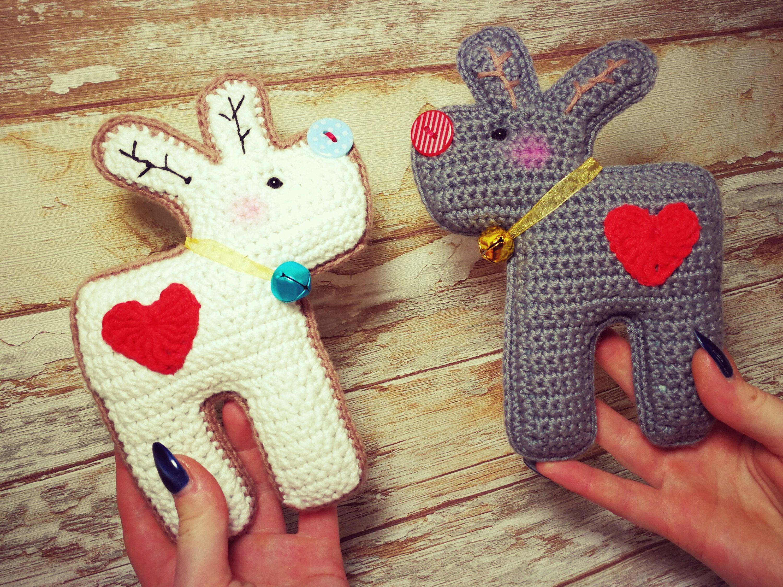 Crochet Pattern Funny Moose Fuchsgeschwister Pinterest